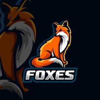 Лисы логотип