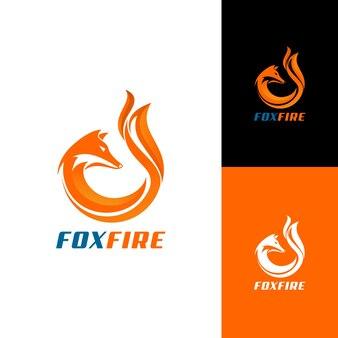 Foxfire logo design