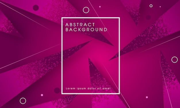 Fractal abstract modern background