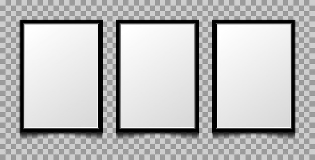 Frame background blank a4.