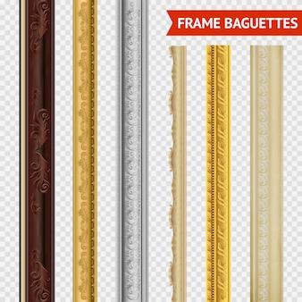 Frame baguette set