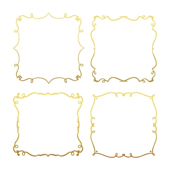 Frame collection with lineal style
