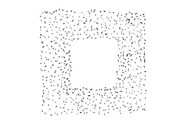 Рамка из точки и квадратного отверстия splat для флаера с сертификатом и другого элемента дизайна