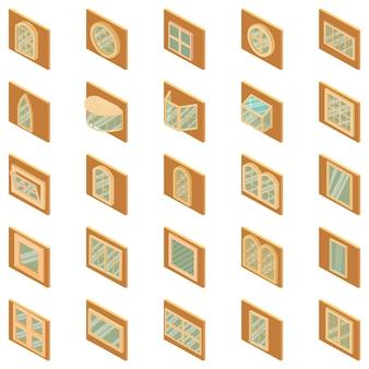 Frame icon set