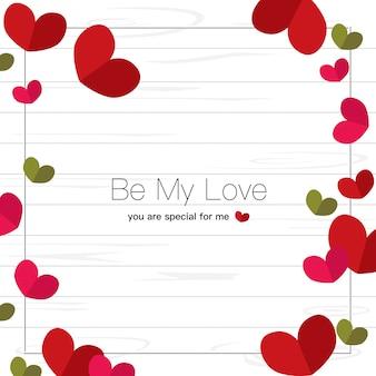Frame love heart