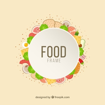 맛있는 음식 프레임