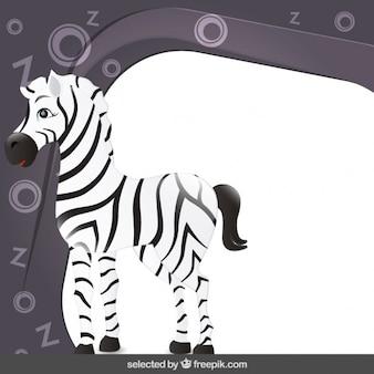 Telaio con zebra