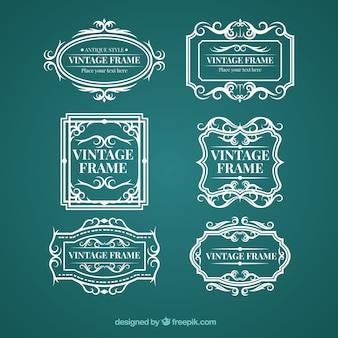 ヴィンテージスタイルのフレームコレクション