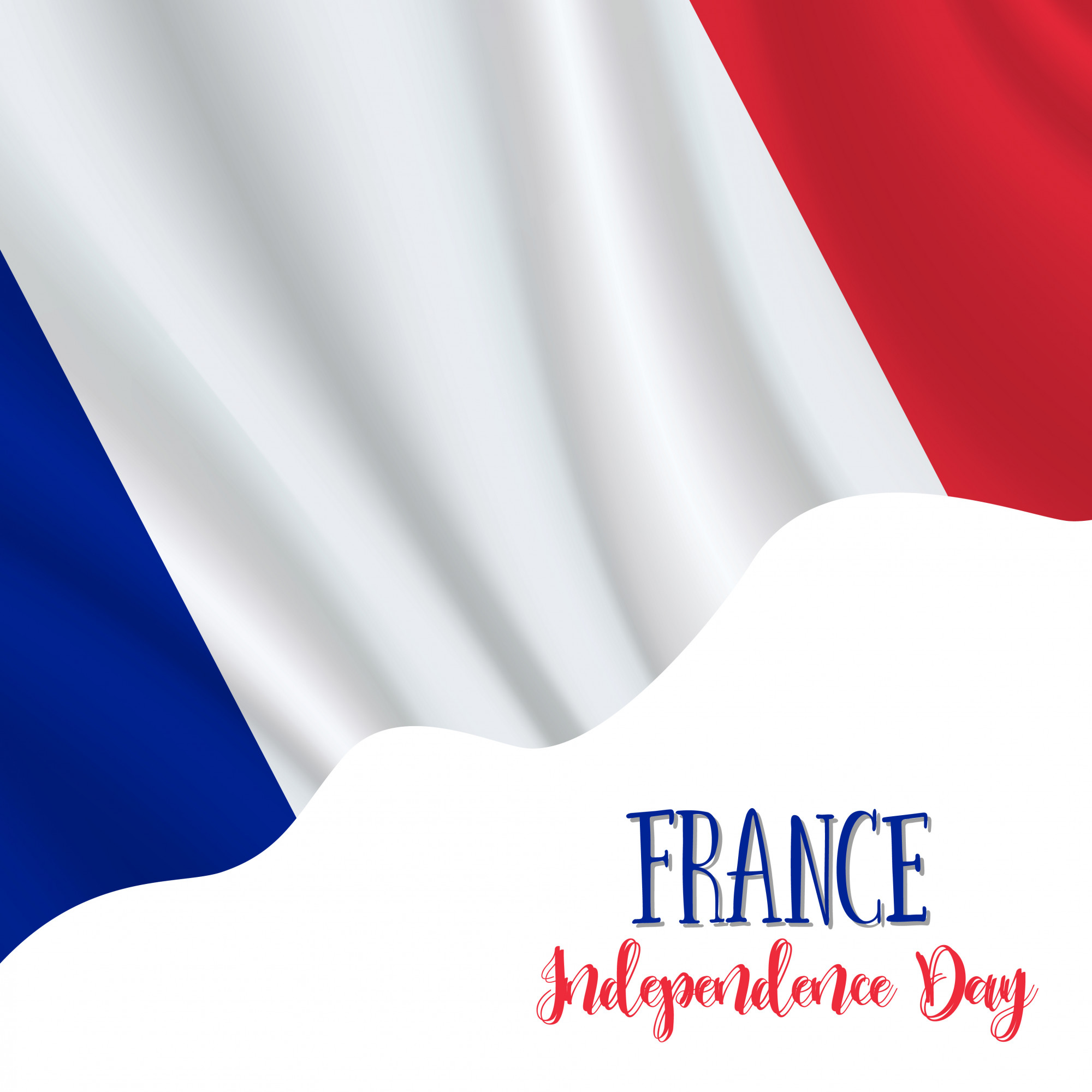 France Independence Day background