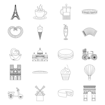 France paris card food monuments and french transport