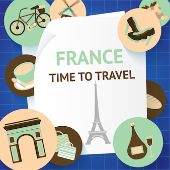 France time to travel paris