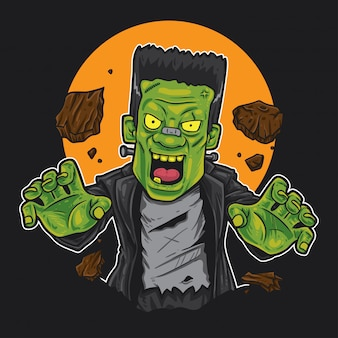 Frankenstein monster