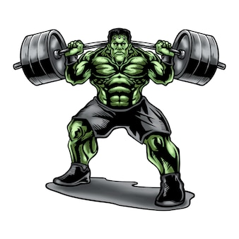 Frankensteins weightlifting