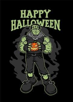 Franky happy halloween