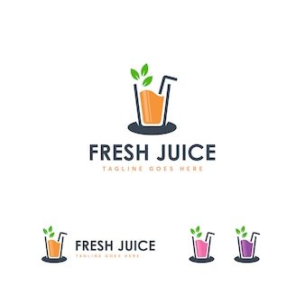 Frash juice logo template