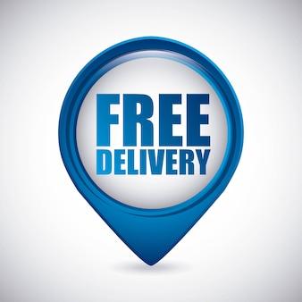 무료 배송 디자인