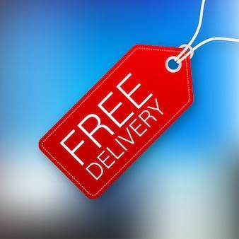 Free delivery illustrtaion