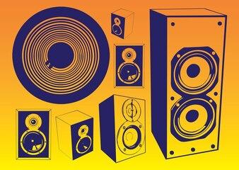 Free Speakers Vectors