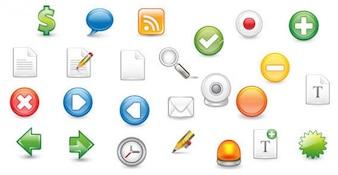 Free Web 2.0 Icons