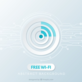 Free wifi background