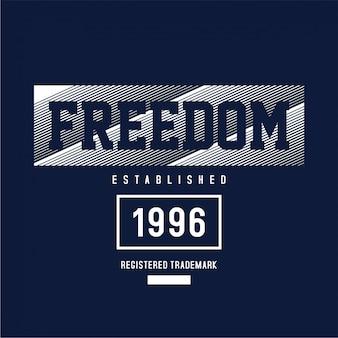 Freedom - graphic t-shirt