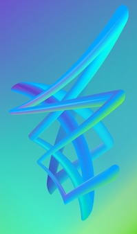 Freeform shape abstract background