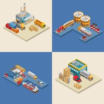 Freight transport near industrial facilities