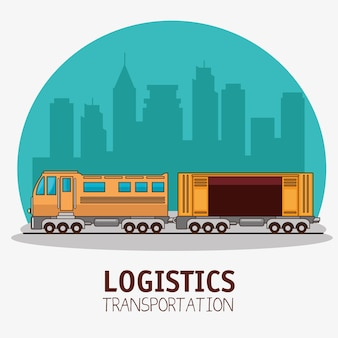 Freight transportation and delivery logistics