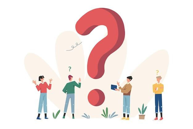 Часто задаваемые вопросы со знаками вопроса