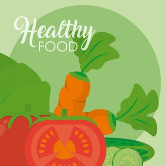 Fresh and healthy vegetables