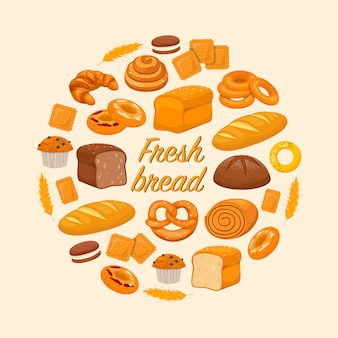 Fresh baked products