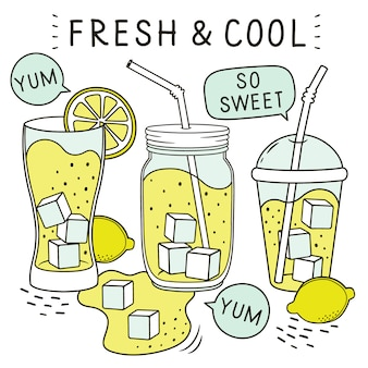 Fresh and cool