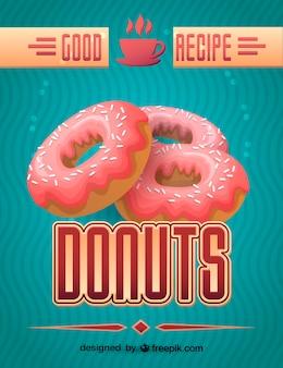 Fresh donut design