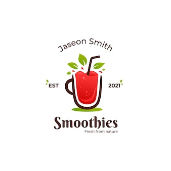 Fresh fruit smoothies logo