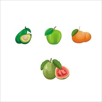 新鮮なフルーツベクトル