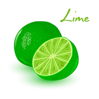 Fresh and juicy lime