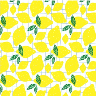 Fresh lemons background