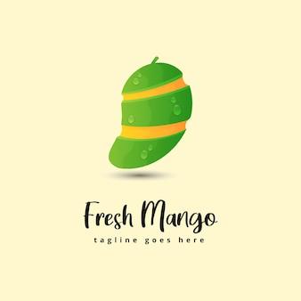 Fresh mango illustration