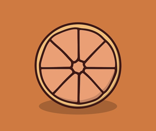 Fresh orange fruit this summer