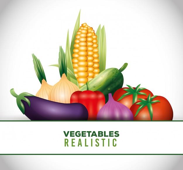 Fresh organic vegetables, healthy food, healthy lifestyle or diet