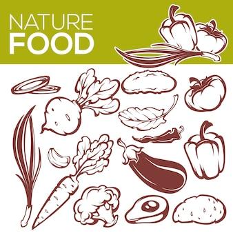 Fresh, organic vegetables for your menu