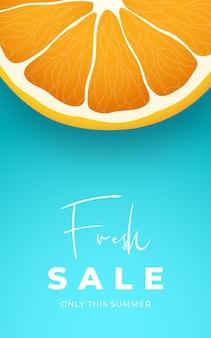 Fresh sale vertical banner