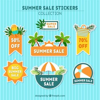 夏の販売のための新鮮なステッカー