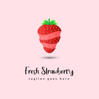 Fresh strawberry illustration