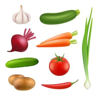 Продукты из свежих овощей.