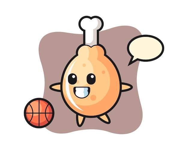 치킨 만화 농구