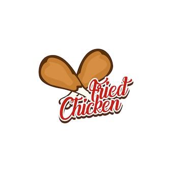 프라이드 치킨 로고