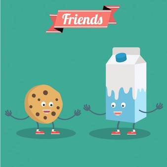 Friendship background design