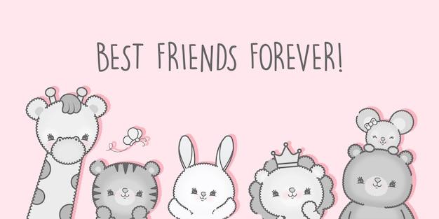 День дружбы с лучшими друзьями премиум