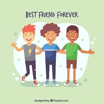 День дружбы с лучшими друзьями